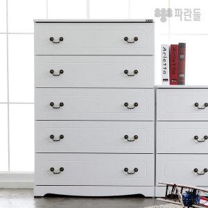 레이첼 5단서랍장/와이드서랍장 2종중택1