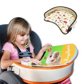 Organic factory popular car seat tray Genie tray