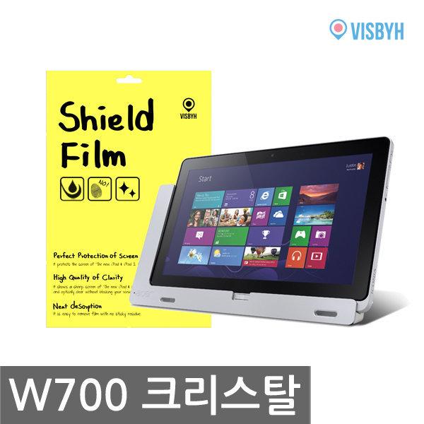 비스비 에이서 아이코니아탭 W700 쉴드필름 크리스탈 액정보호필름 (1 film) / VISBYH SHIELD FILM CRYSTAL 상품이미지