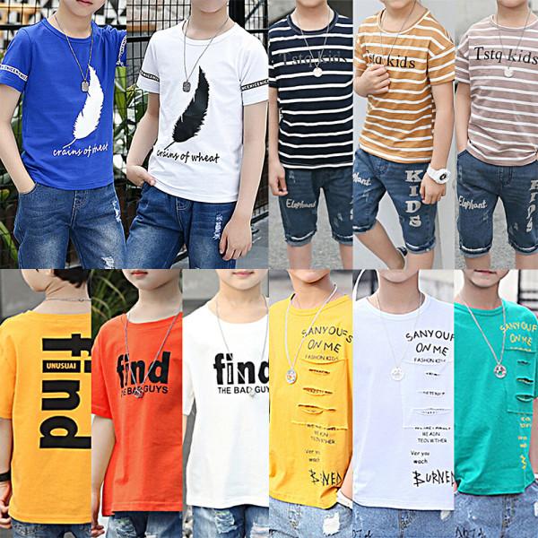 주니어의류/초등 티셔츠/라운드티셔츠/후드티/맨투맨 상품이미지