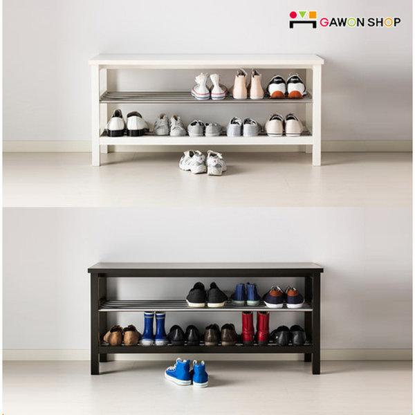 TJUSIG 벤치 겸용 신발보관대/벤치/신발장/수납/정리/ 이케아 상품이미지