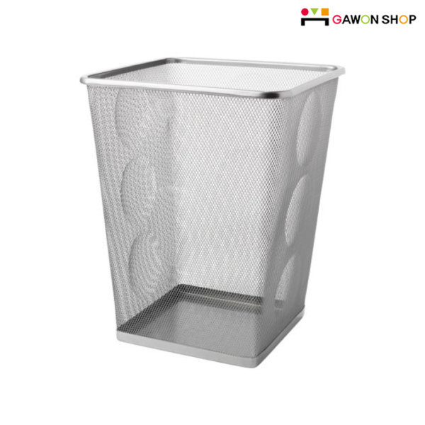 DOKUMENT 휴지통 wastepaper basket/철제/스틸/쓰레기통/ 이케아 상품이미지