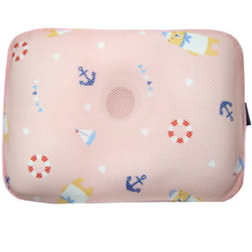 GIO Baby pillow / neck support / breathable / flat head prevention /