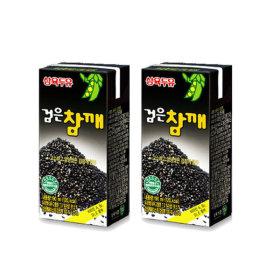 삼육두유 검은참깨두유 190ml 48팩 건강음료