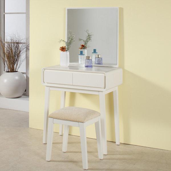 원목도장 엘립스 화장대 세트(화장대+거울+의자) 상품이미지