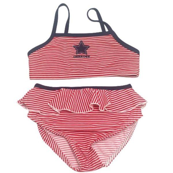 스타 스트라이프 투피스 수영복  (2-8세cm) 700020 상품이미지