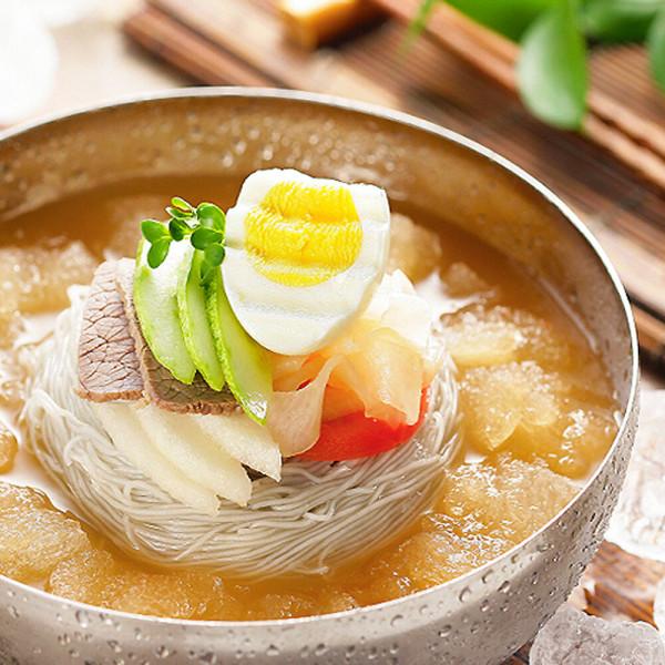 냉면10인분풀셋트(사리+육수/비빔장+냉면무+겨자+식초 상품이미지