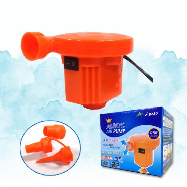 전기식 에어펌프/물놀이용품 공기주입기 상품이미지