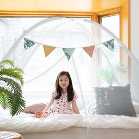 1 second big size one touch mosquito net tent/screens/mosquito eradication