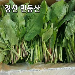 (정선 민둥산) 생곤드레4kg/곰취/산마늘/곤드레나물