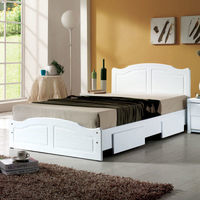 Standard bed including mattress /bed with drawers