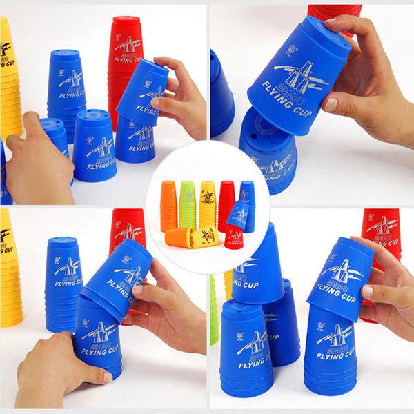 매직 스피드 컵쌓기12pcs 컵 쌓이 장난감놀이 탑 쌓기 상품이미지