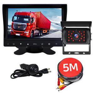 [엑스비전]화물차후방카메라 LED모니터/대형차/중장비/버스/트럭