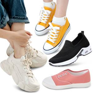 여성신발 슬립온 스니커즈 신발 단화 운동화 플랫슈즈