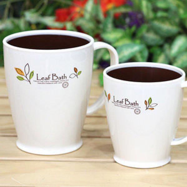 M-잎새 양치컵/국산 컵 칫솔걸이 칫솔꽂이 물컵 상품이미지