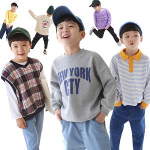 밍구키즈 겨울신상~상하복세트/아동복/티셔츠/청바지