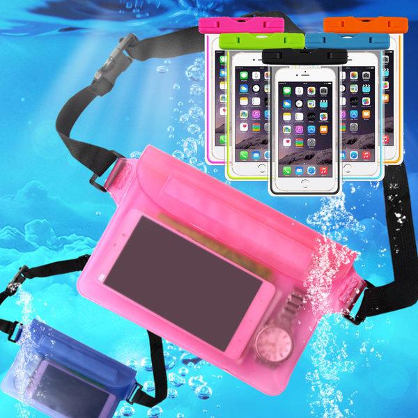 방수팩 가방 휴대폰 핸드폰파우치 힙색 케이스 방수백 상품이미지