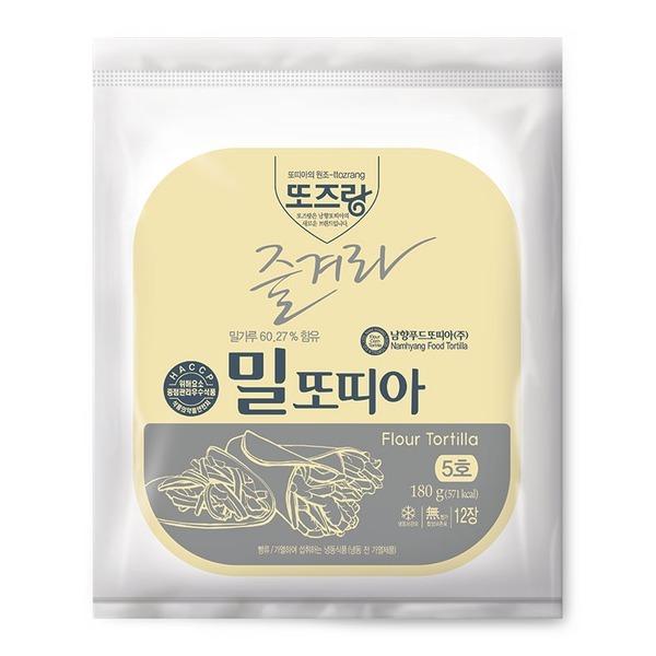 남향푸드또띠아(주)  남향또띠아 5호 흰색 (12장) 상품이미지