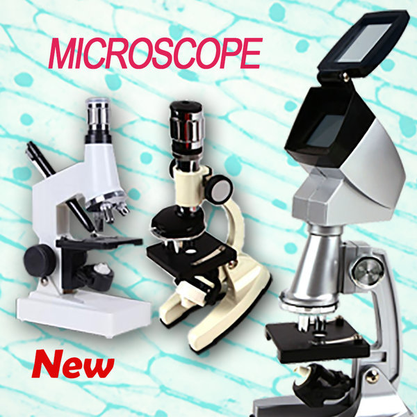 (PC 메탈 현미경)1200배 광학 실체 생물 미니 현미경 상품이미지