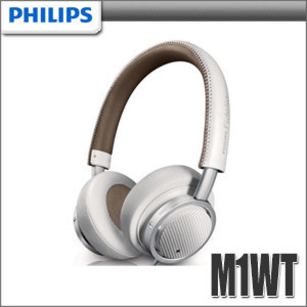국제미디  PHILIPS 필립스 M1WT 밀폐형헤드폰 인라인마이크 픽업버튼 이중귀덮개 상품이미지