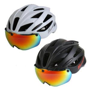 [사가라이더]SR 우라칸 고글헬멧 인몰드 헬맷 킥보드 자전거헬멧