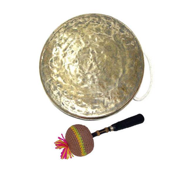 방짜징 은징 1자3치 (오죽뿌리징채 레자케이스 포함) 상품이미지