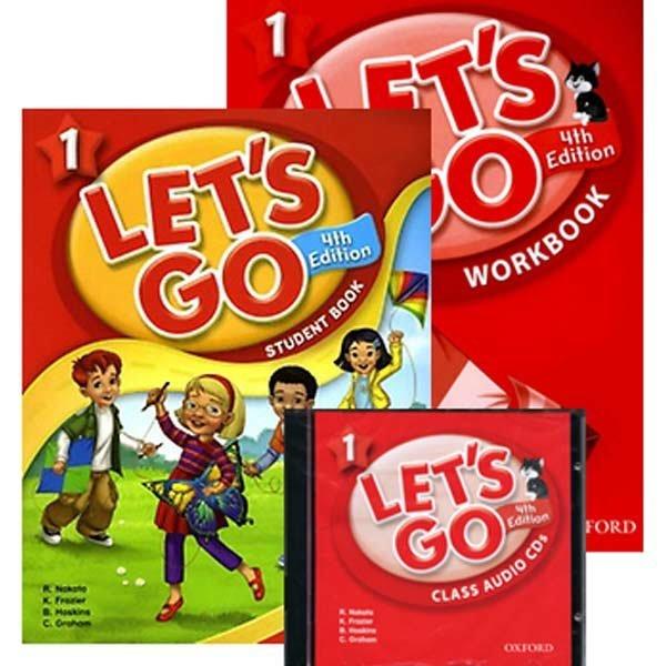 LET S GO 4판 SET(SB+WB+CD)/begin/1/2/3/4/5/6단계/레츠고/렛츠고/옥스포드/lets go 상품이미지