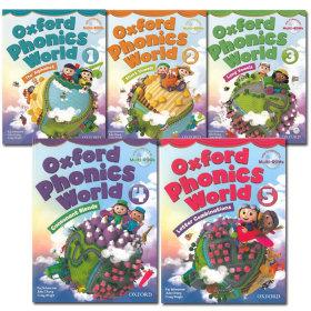 Oxford Phonics World 1/2/3/4/5 Student Book/파닉스월드