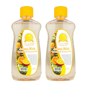 Aroma/Rich/Body Oil/465ml/Orange/x2