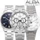 세이코 알바 크로노그래프 컬렉션 야광기능 손목시계