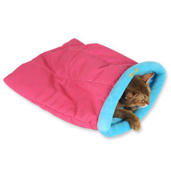 펫모닝 바스락 핑크도트 방석  PMC-700  /고양이용품 고양이집/방석/하우스/놀이터 상품이미지