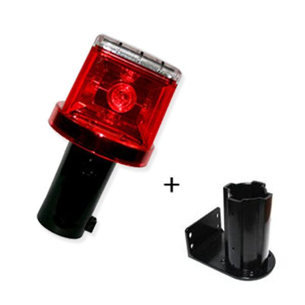 태양광경광등/LED 비상등 위험경고등 동물퇴치 안전등 상품이미지