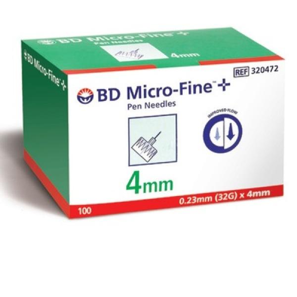 BD 펜니들 32G 4mm nano (100개) 상품이미지