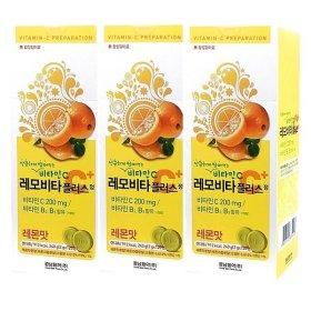 경남) 레모비타 플러스정 120정 x 3개 맛선택