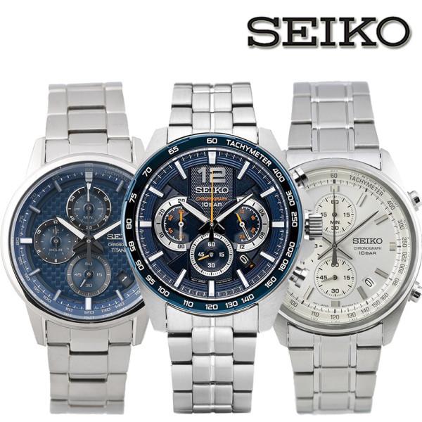 b033a225e82 세이코 100M 방수 야광 크로노그라프 남성 손목시계 상품이미지 ...
