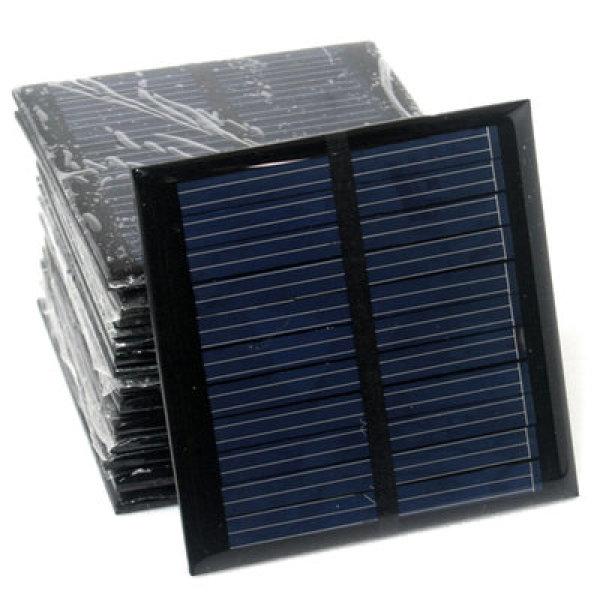 태양전지 2W 1.6W 1W 0.5W/DIY 태양광충전기 / 태양광 태양열 솔라 패널 태양전지판 쏠라 판넬 과학 교구 상품이미지