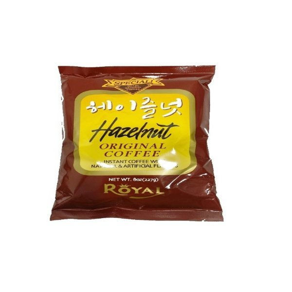 로얄 헤이즐럿향 인스턴트커피 227g/헤이즐럿/커피 상품이미지