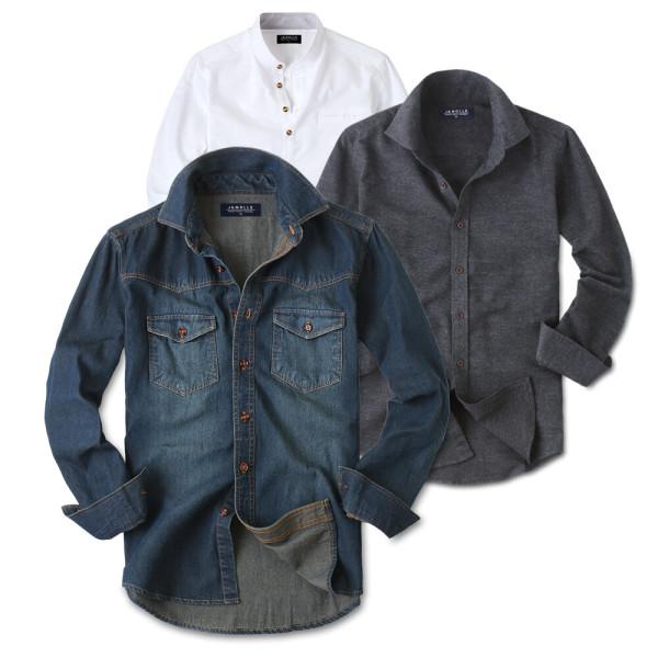 기모 겨울 BEST 남자 남성 긴팔 셔츠 남방 와이셔츠 상품이미지