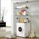 (현대Hmall)e왕자 2단너비조절 세탁기김치냉장고선반 상품이미지