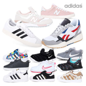 [adidas] [Reebok] [NIKE] Sneakers collection / lace up / low top / high top / mesh panel /