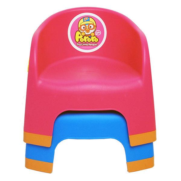 뽀로로 라운드 의자 / 아기의자 / 유아의자 상품이미지
