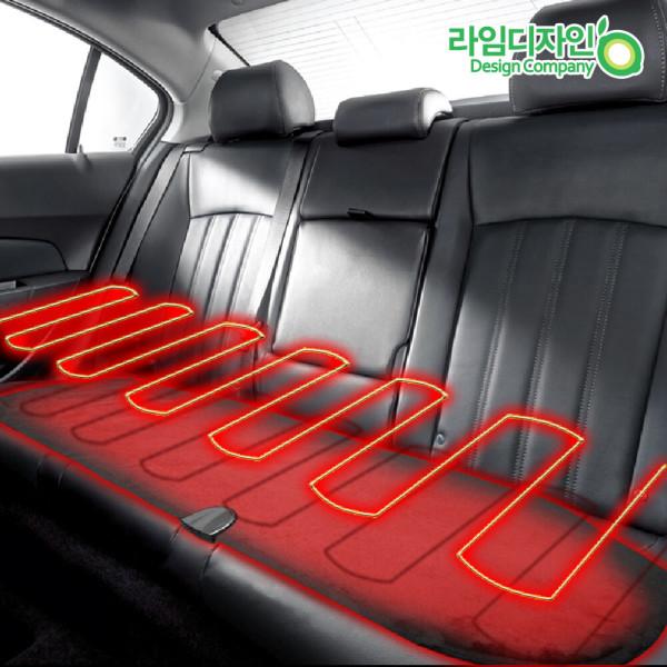 뒷좌석 겨울시트/열선시트/온열시트/자동차시트커버 상품이미지