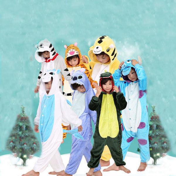 동물잠옷캐릭터아동수면잠옷할로윈코스프레겨울실내복 상품이미지