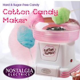 NOSTALGIA ELECTRONICS Cotton candy maker / PCM-805 / easy to operate /