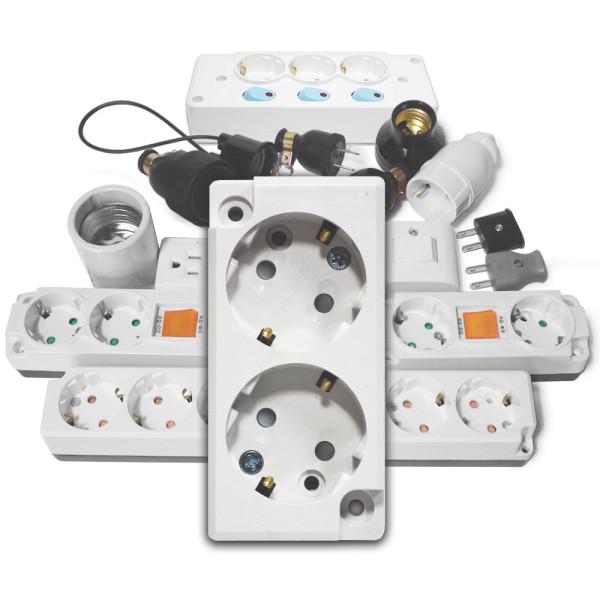 노출콘센트/노출스위치/전구소켓/고무/플러그/110V 상품이미지