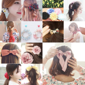 Free shipping for purchasing 2+ in Korea /hair pin/clip pin/hair band