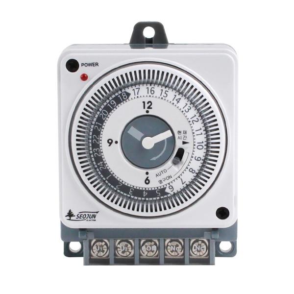 SJP-R16-1W 타이머 콘센트 타임 스위치 간판 전선 상품이미지