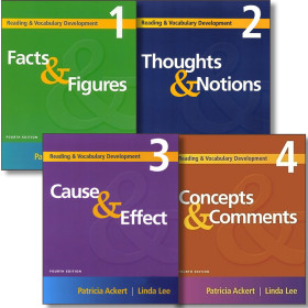 Facts and  Figures 4E/Thoughts and Notions 2E/Cause and Effect 4E/Concepts and Comments 3E/
