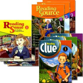 두건구매시 노트증정/Reading Sense / Reading Source / Reading Clue / 1.2.3선택가능/능률