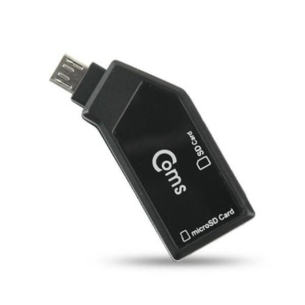 MV988  Coms 스마트폰 OTG 카드 리더기(Micro SD/SD 상품이미지
